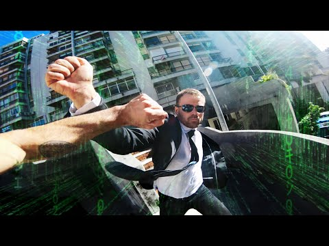 MATRIX ESCAPE - Real life Parkour POV