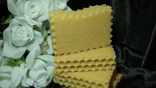 Honey Comb- Cold Process Beeswax and Honey Soap