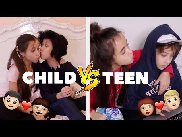CHILD VS. TEEN RELATIES II DAILY TWINLIFE