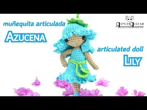 Articulated crochet doll - Do you want to make your own crochet doll amigurumi?