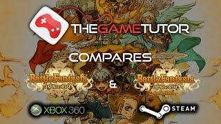 The Game Tutor Compares Battle Fantasia (Steam Revised vs Xbox 360)