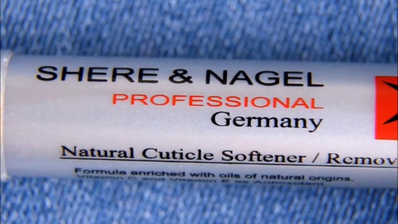 Карандаш для увлажнения кутикулы с маслом лимона от Shere&Nagel .
