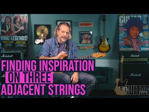 Finding inspiration on three adjacent strings with Andy Aledort