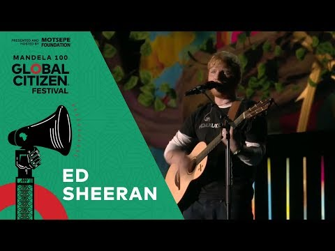 "Ed Sheeran Performs ""Shape of You"" 