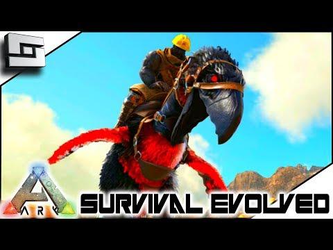 ARK: Survival Evolved -  Apex Terror Bird TAMING! ( Modded Ark Primal Fear ) E7