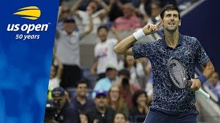 Novak Djokovic Continues to Roll in Flushing Meadows