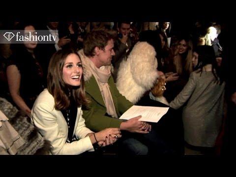 Olivia Palermo @ Jaeger Front Row - London Fashion Week Spring 2012 | FashionTV - FTV