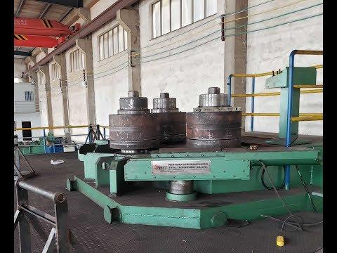 W24S-400 large hydraulic profile bending machine