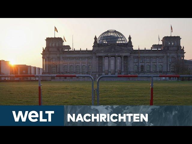 INFEKTIONSSCHUTZGESETZ: Bundestag entscheidet über Notbremse - Proteste erwartet I WELT Newsstream