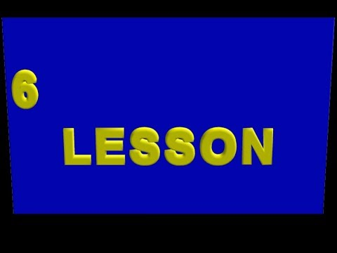 006 Lesson  (from the Ollendorff German Grammar )