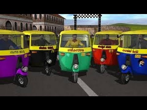 Auto Rickshaw Rash Android GamePlay Trailer