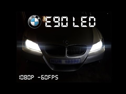 How To Install LED Bulbs On A BMW E90 Halogen To LED Headlight Conversion: