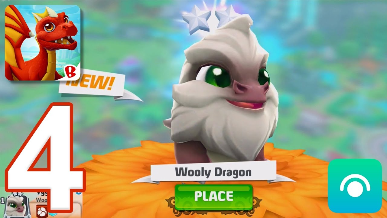 DragonVale World - Gameplay Walkthrough Part 4 - Level 10-12 (iOS, Android)