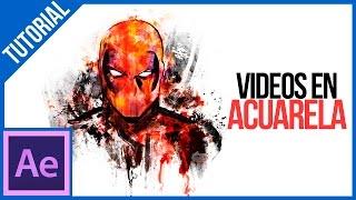 Videos con Acuarelas En  After Effects || Tutorial