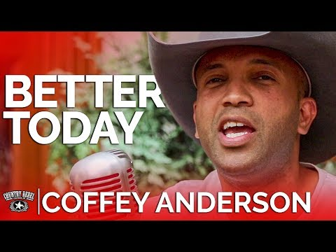 Coffey Anderson - Better Today (Acoustic) // Country Rebel HQ Session