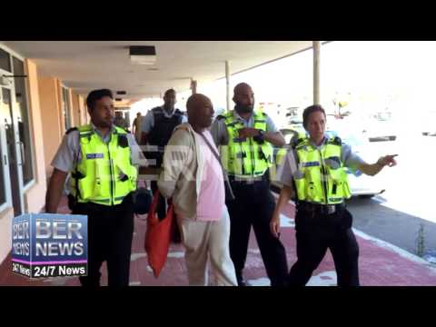 Man Escorted Out of the Airport in Police Custody, May 16 2017