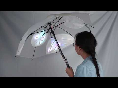 【Dreamer】——Design of interactive umbrella device  based on a