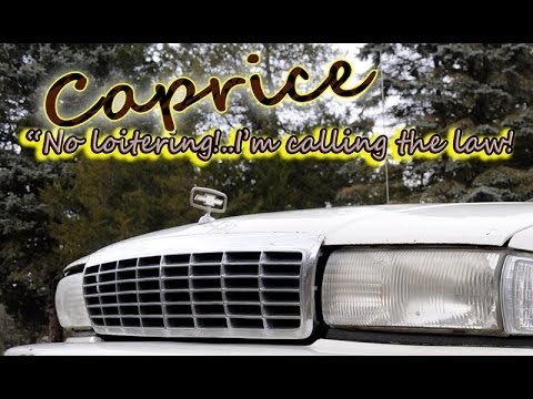 Regular Car Reviews: 1992 Chevrolet Caprice