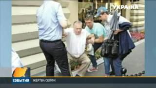 Владимир Жириновский сломал клумбу из-за селфи