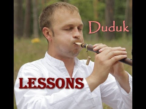 Duduk Lessons (Уроки игры на дудуке): Как быстрее разыграть трость для дудука  Mpeg2video