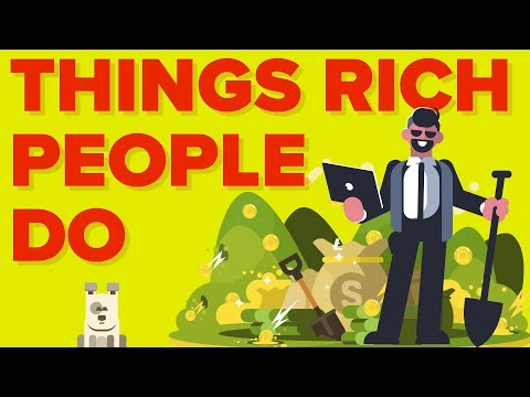 Things Rich People / Millionaires Do vs. That Poor People Don't
