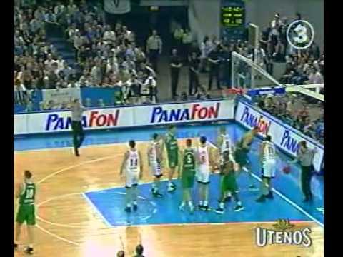 1999. Žalgiris – Kinder (Eurolygos Finalas)