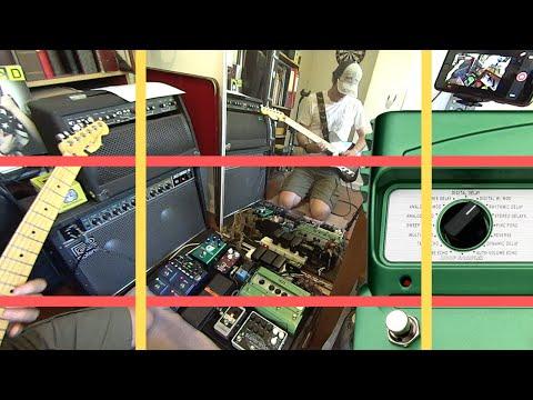 Ambient Guitar Loop  | Digitech DL4 | EHX SuperEgo+ | Fender Marine Layer Reverb