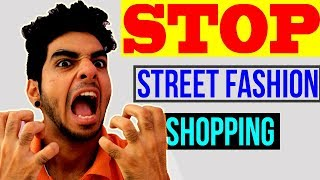 STOP ! WASTING your money, Never BUY from street markets! Men