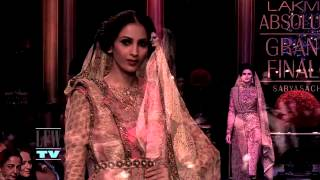 Countdown to Lakme Fashion Week Summer/Resort 2014 - Grand Finale by Sabyasachi