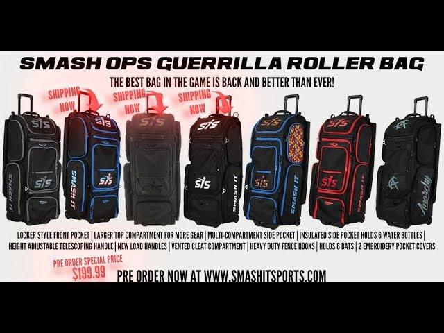Smash It Sports Smash OPS V2 guérilla noir//or Roller Sac