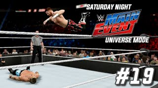 wwe 2k15 universe mode snme episode 19 an emphatic statement snme