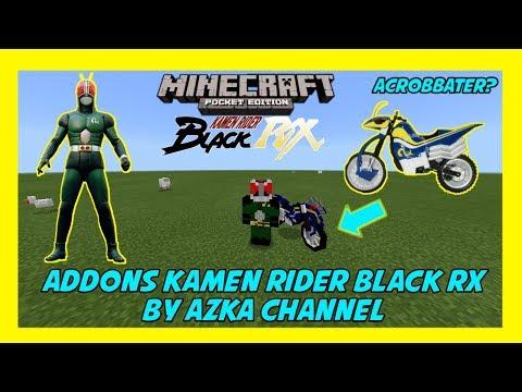 Full Download] Kamen Rider Black Rx Di Minecraft Showcase