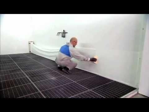 3m dirt trap films de protection pour cabines de peinture youtube. Black Bedroom Furniture Sets. Home Design Ideas