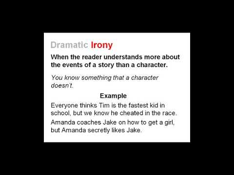 What Is Irony Three Types Of Irony Lesson 2 Youtube Free online and printable reading worksheets and resources: youtube