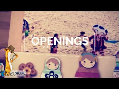 Opening (Semsem club) | Apple TV| iCon Studio Animation