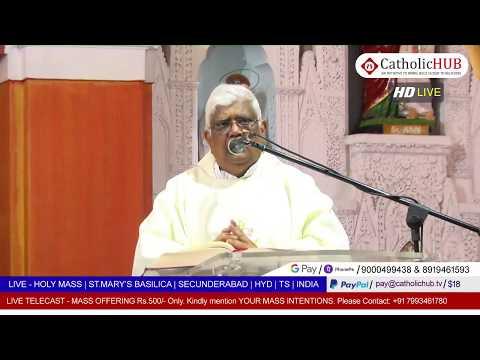 SUNDAY HOLY MASS | ST.MARY'S BASILICA | SEC BAD | HYD | TS | INDIA | 10-05-2020