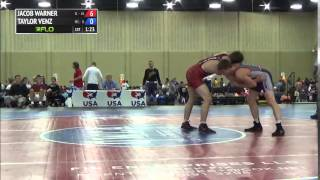 170 f, Taylor Venz, Minnesota vs Jacob Warner, Illinois