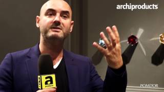 ISH Frankfurt 2017 | POMD'OR - Eugeni Quitllet Talks about the Mirage bathroom collection