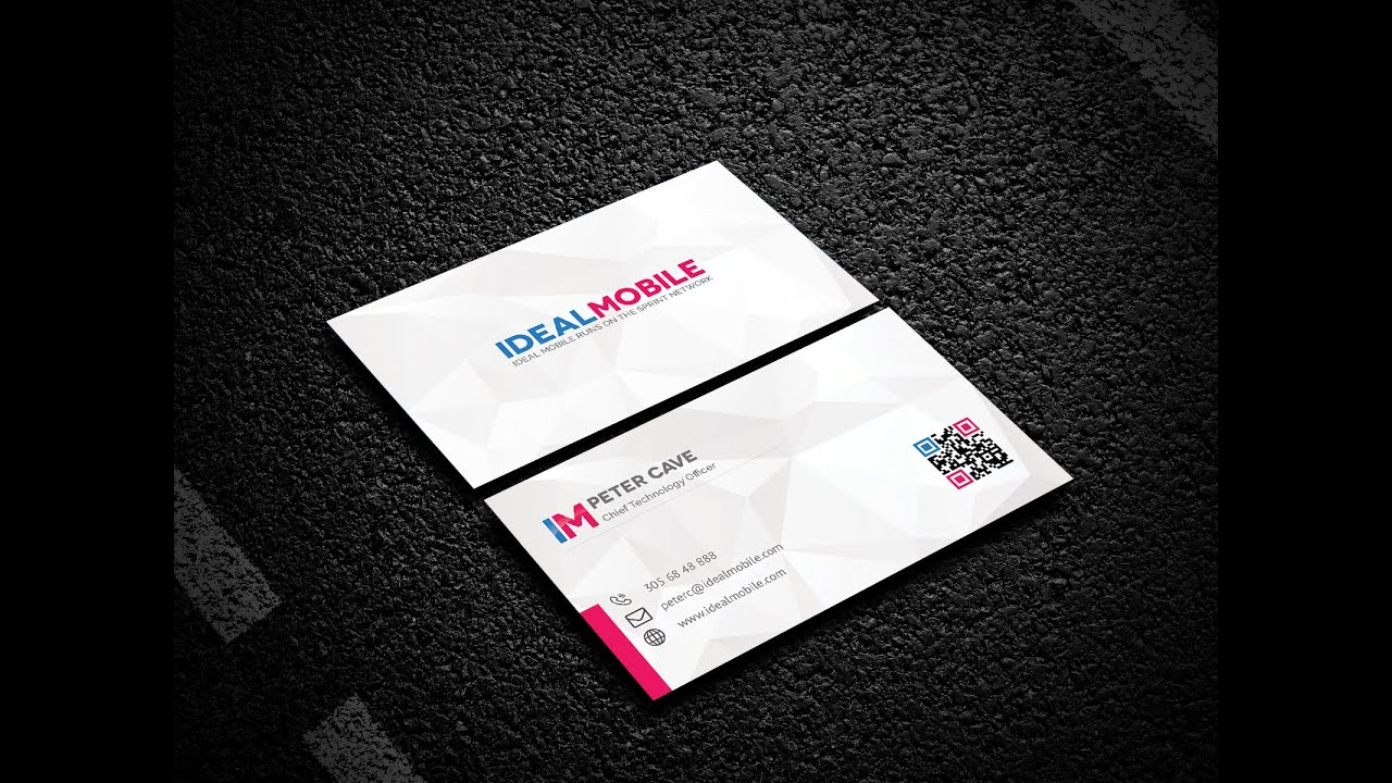 How to create a business card mock up presentation youtube how to create a business card mock up presentation colourmoves