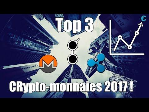 Top 3 des crypto-monnaies d'avenir dans lesquelles investir en 2017 ! [ + tuto comment investir ]