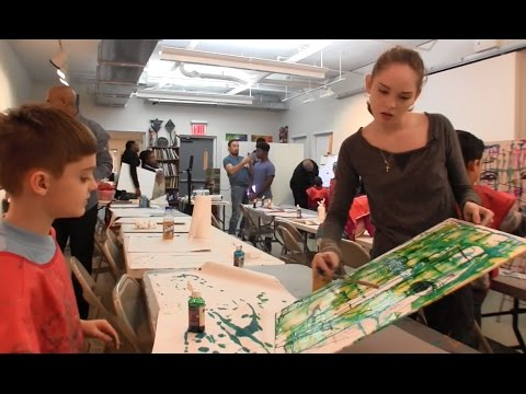 Autumn de Forest Inspires Young Artists in Harlem