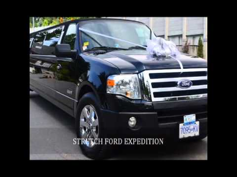 Time Limousine Vancouver - Limo fleet, Decorated Wedding Limos 604-340-9200