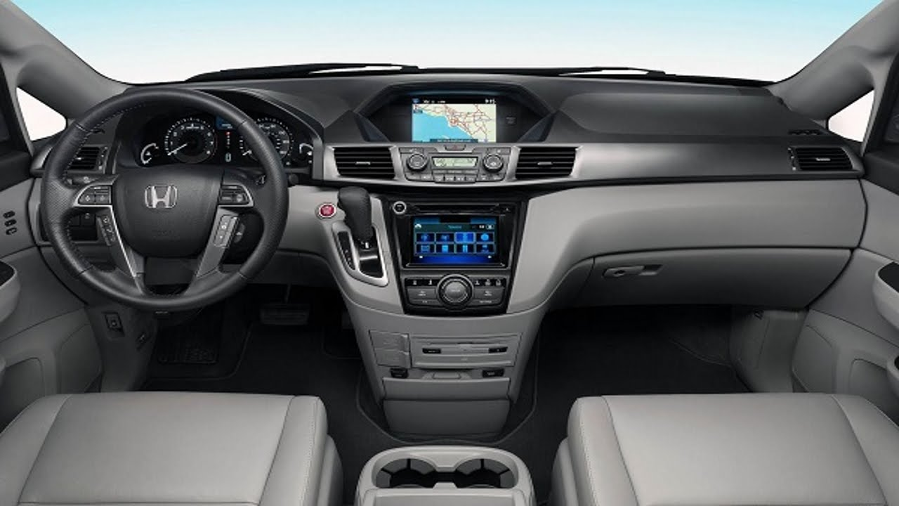 New Car 2016 Honda Odyssey Interior Inside Youtube