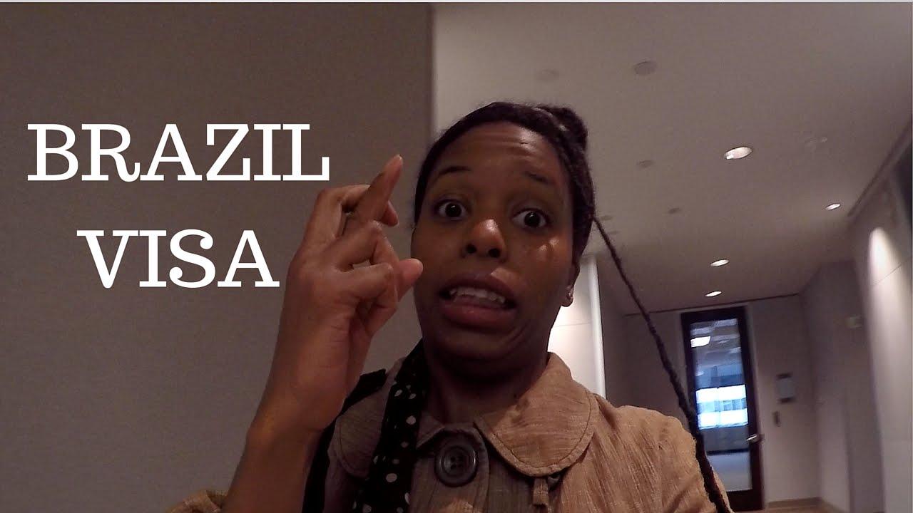 vlog 4) denied a brazilian travel visa? - youtube