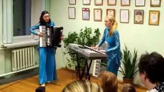 """Yamaha + Accordion / """"Праздник в улусе"""" - А. Прибылов"""