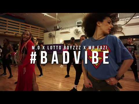 Ezinne Ft MO & Mr Eazi & Lotto Boyzzz - Bad Vibe Choreography