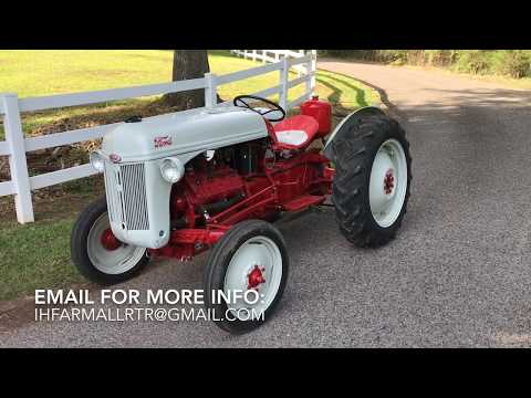 Ford 8n Tractor with Flat Head v8