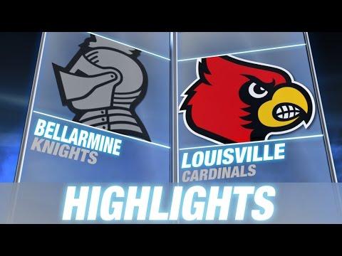 Bellarmine vs Louisville   2014-15 ACC Basketball Highlights