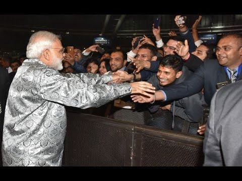 PM Modi at an interaction with Indian Community in South Africa