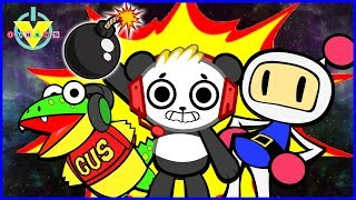 VTubers Super Bomberman R KING TRASH MAN Let's Play with Combo Panda & Gus